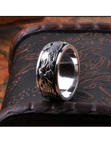 Hecho a mano de plata 925 tibetana...