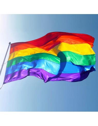 Bandera Arco Iris 3x5 pies 90x150 cm...