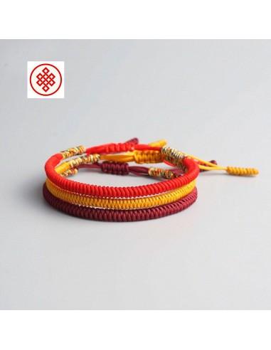 Conjunto de pulseras amuleto multicolor