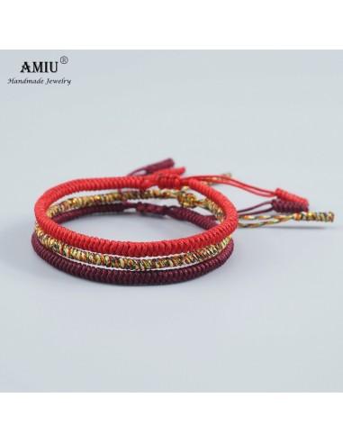 AMIU 3 piezas Multi Color budista...