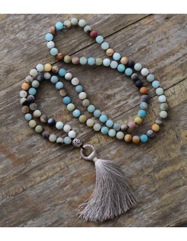 Vintage Necklace Unique 8MM Matte...