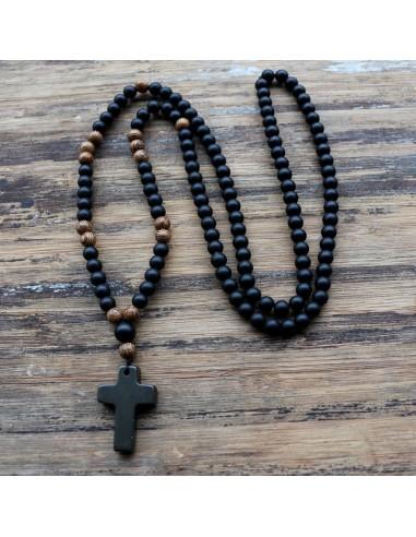 Collar mala rosario